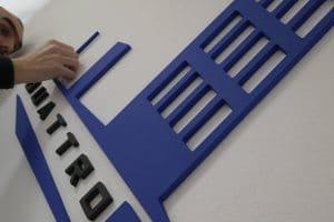 3D logo - PVC