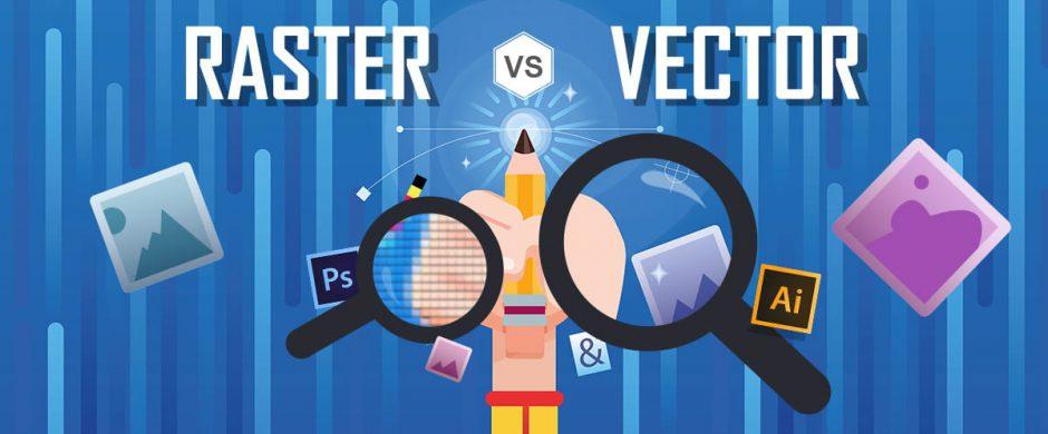 rasterová grafika vs vektorová grafika