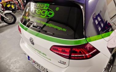 Samolepky na auto, polep auta - Bioprego