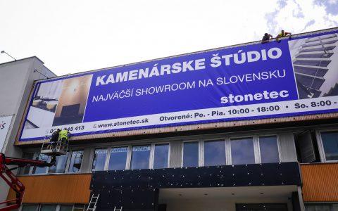 Montáž Banneru - Stonetec