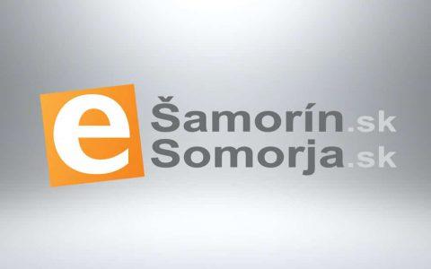 Logo design - E-šamorín.sk