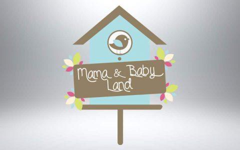 Logo design - Mama & Baby Land