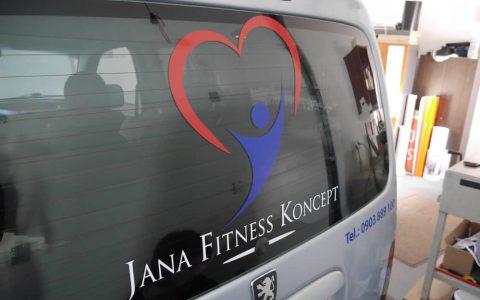 Polep Jana Fitness Koncept
