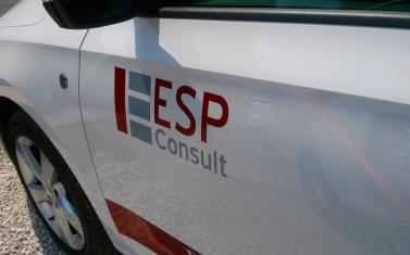 Samolepky na auto, polep auta - ESP Consult
