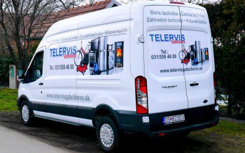 Polepy áut - Telervis