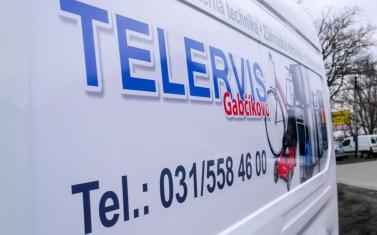 Samolepky na auto, polep auta - Telervis