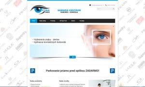Webstránka pre Optika Oros