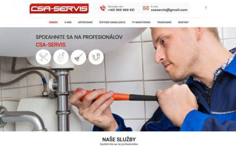 Poskladať webstránku