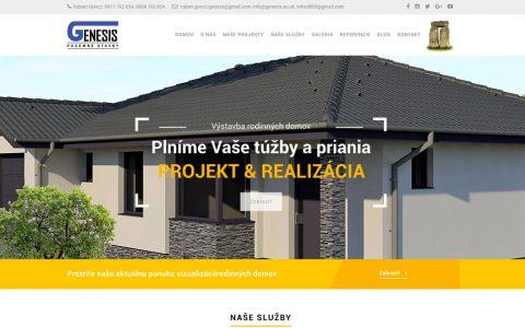 Návrh webstránky