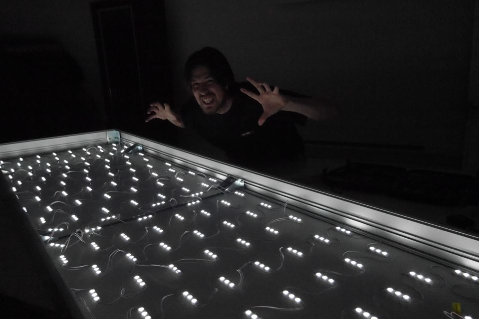 svetelný box LED
