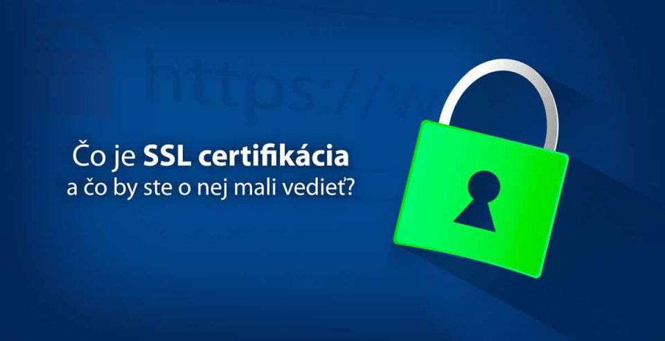 SSL certifikácia