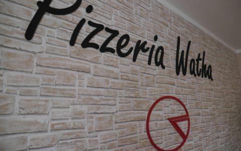 Pizzeria Watha - 3D logo