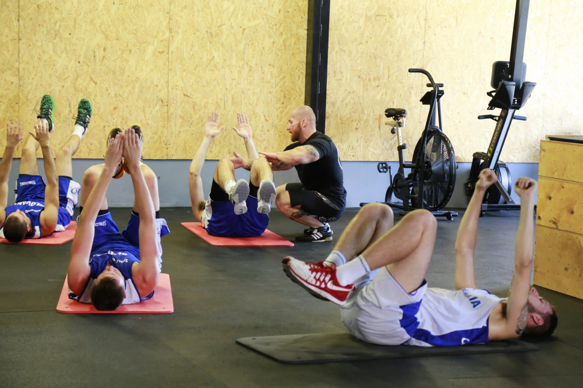 Tréning v CrossGym Core Šamorín