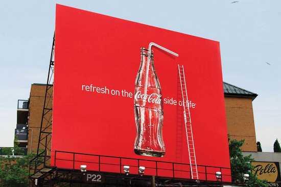 billboard coca cola