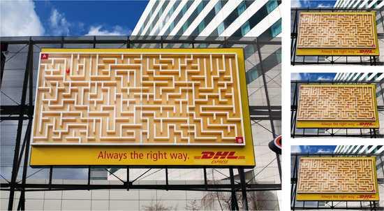 billboard DHL