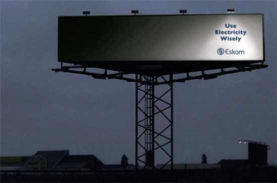billboard na setrenie energie
