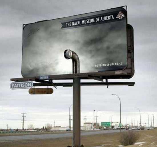 zaujímavý billboard