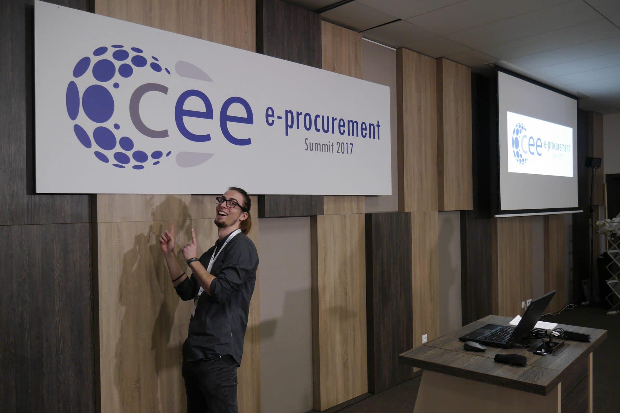 PVC tabuľa - E-procurement Summit
