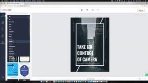 reklamný plagat v DesignCap.com