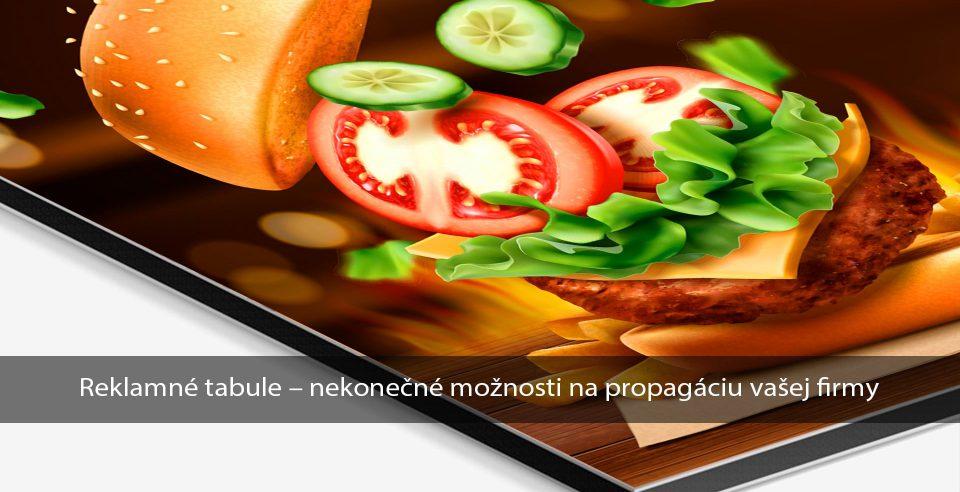 Výroba reklamných tabúľ