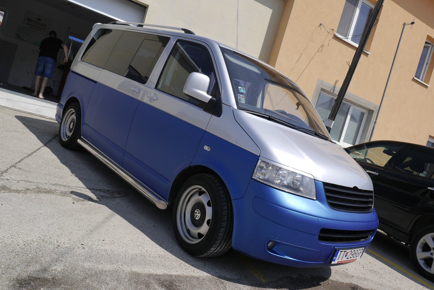 polep VW multivan