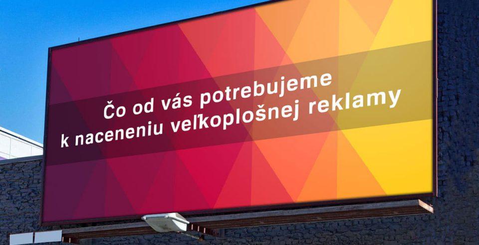 velkoplošné reklamy