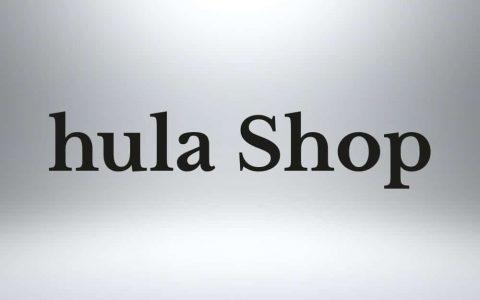 Dizajn loga pre hula Shop
