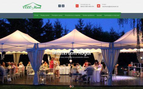 webstránka vecomont