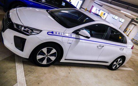 Polep elektomobilu - Hyundai IONIQ