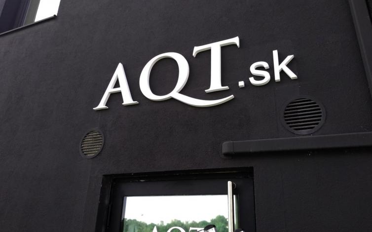 PVC 3D logo - AQT Bratislava