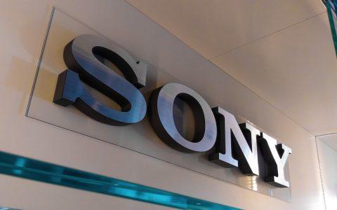 3D logo interiér - Sony