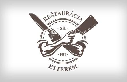 Reštaurácia sk - hu étterem logo