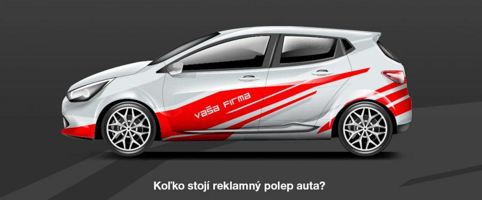 Koľko stojí reklamný polep auta?