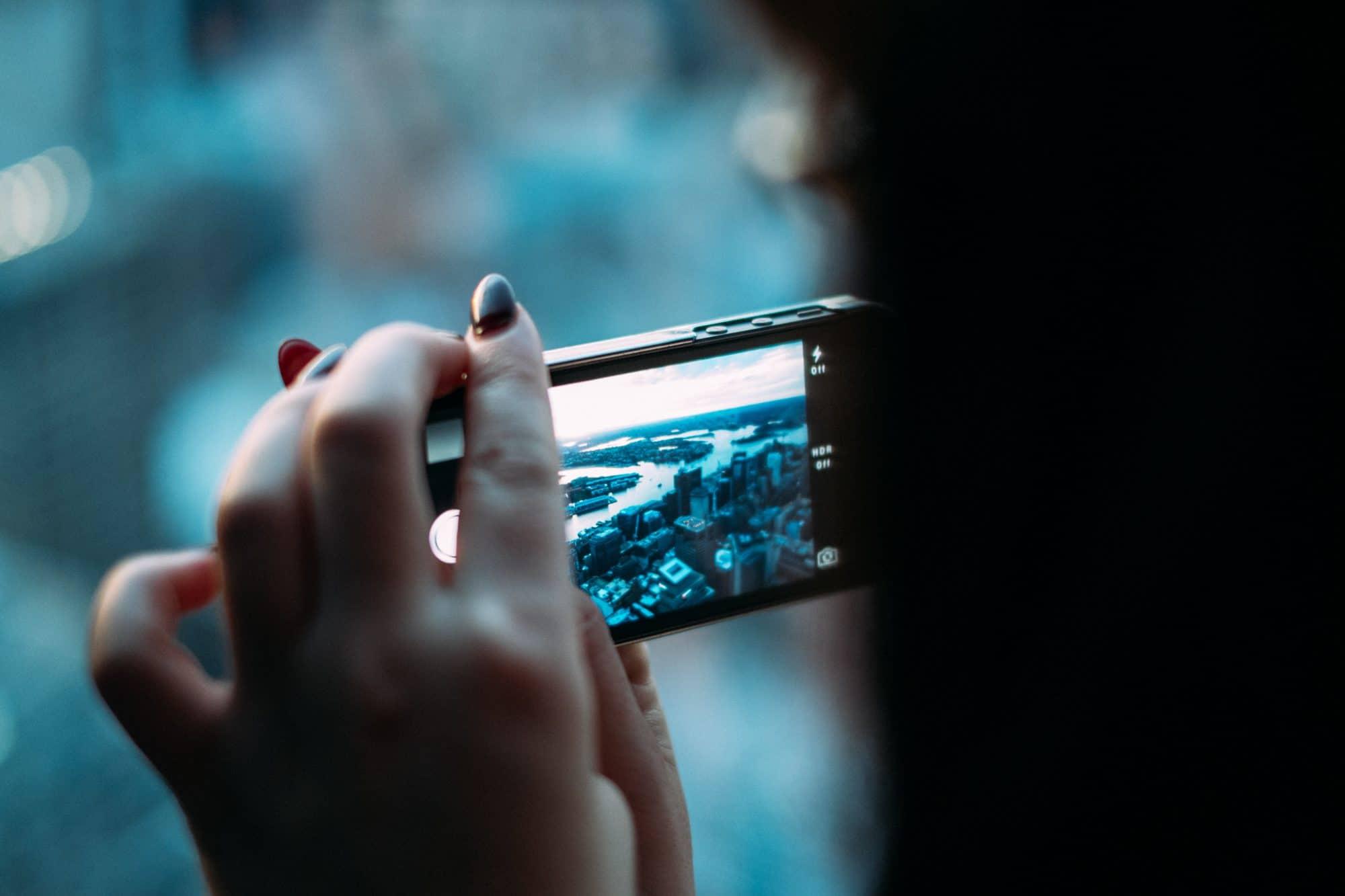 fotky cez telefón