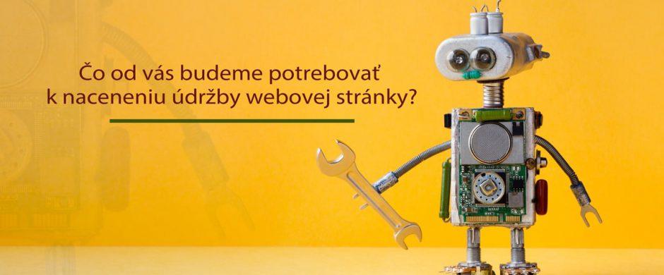 Údržba webovej stránky - Web & go design, s.r.o.