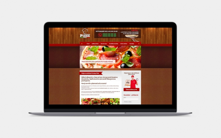 Tvorba web stránok - fantasypizza.sk