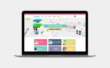 Tvorba web stránok - littleones.sk