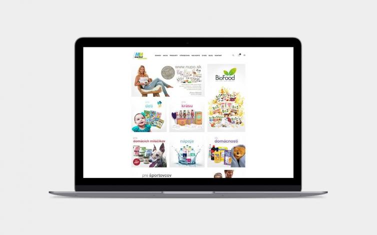 Tvorba web stránok - mm-market.sk