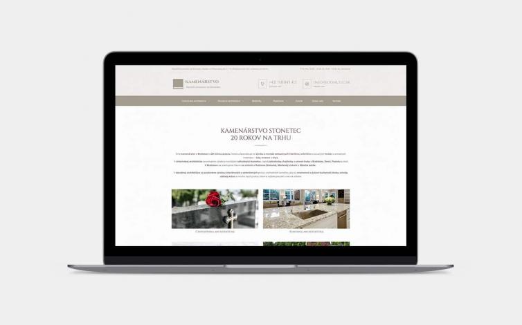 Tvorba web stránok - stonetec.sk