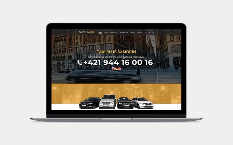Tvorba web stránok - taxiplus-samorin.sk