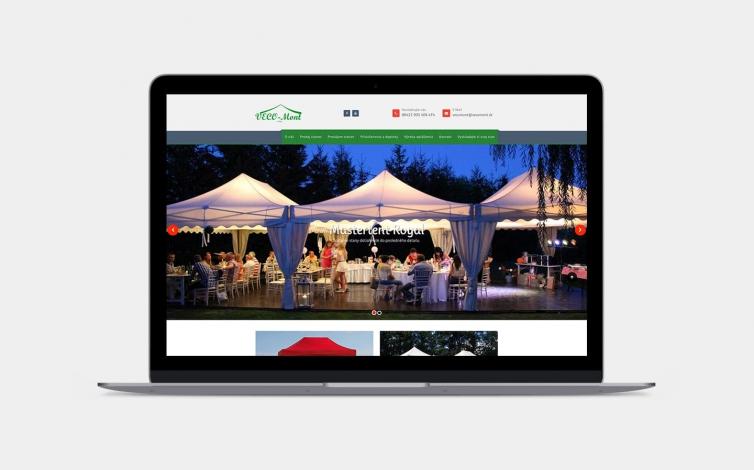 Tvorba web stránok - www.vecomont.sk