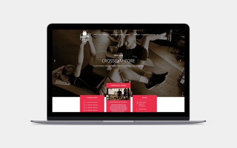 Tvorba web stránok - crossgymcore.sk