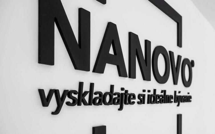 3D logá a nápisy - NANOVO
